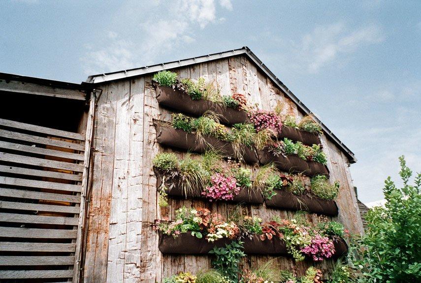 4 ideas de mejores modelos de jardines verticales caseros deco hogar - Jardines verticales paso a paso ...