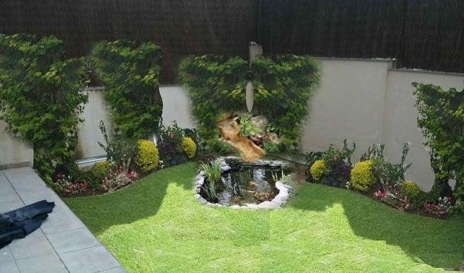 6 tips para aprovechar los jardines peque os con piedras for Jardines con piedras y macetas