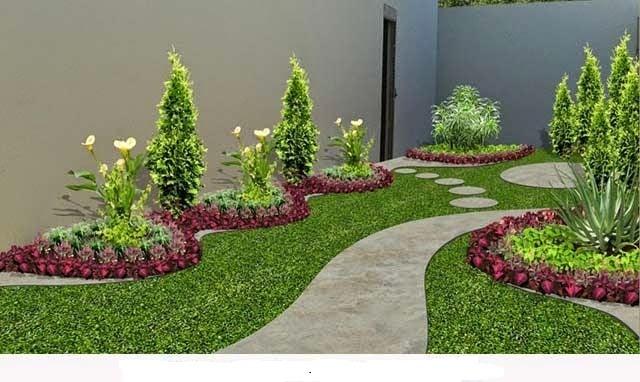 6 tips para aprovechar los jardines peque os con piedras for Modelos de jardines en casa