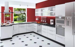 5 Elementos Fundamentales que Deben Poseer Las Cocinas Modernas Pequeñas!!!