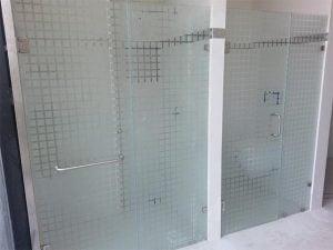 Canceles de Baño de vidrio templado