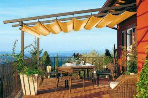 Tipos de Estructuras y Pérgolas para Terrazas para Sentarse