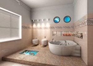 Accesorios para baños con diseños sencillos