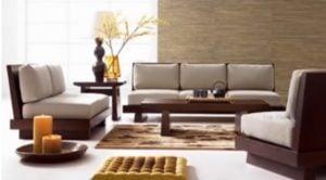 Elementos de una sala de estar