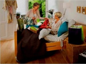 Dormitorio para discapacitados