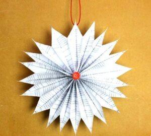 Adornos Navidad con Papel lustre
