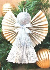 Adornos Navidad con Papel metalico