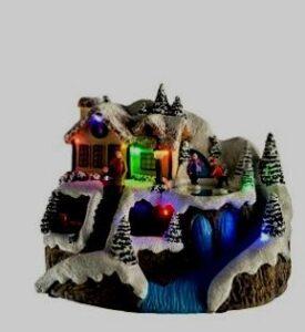 Casitas de Navidad de madera